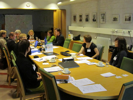 Steering group session